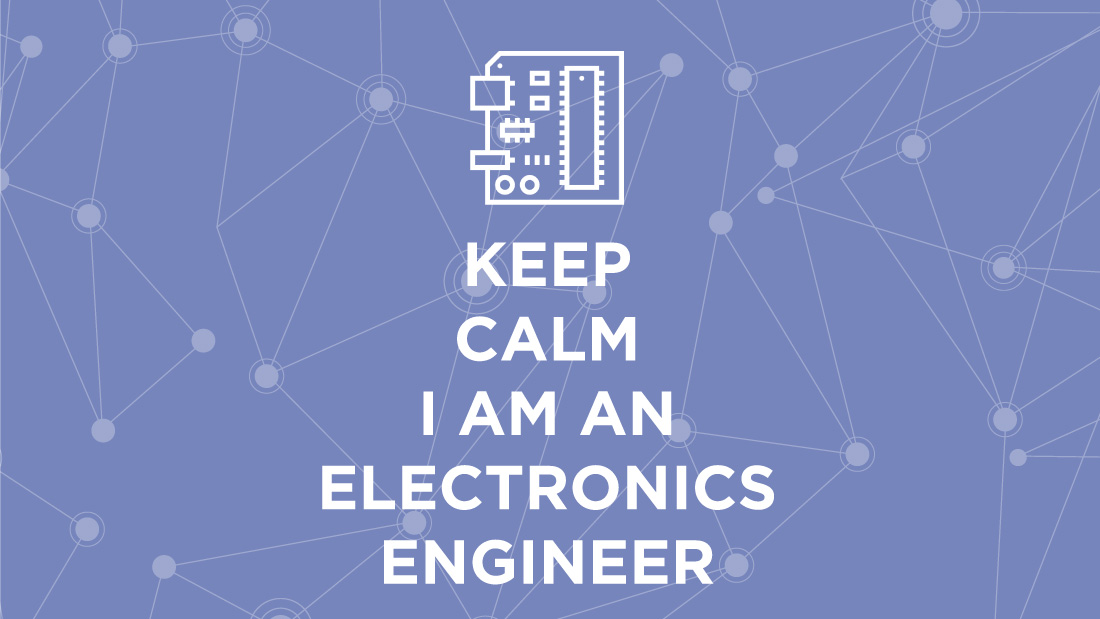 Electronics engineer job description