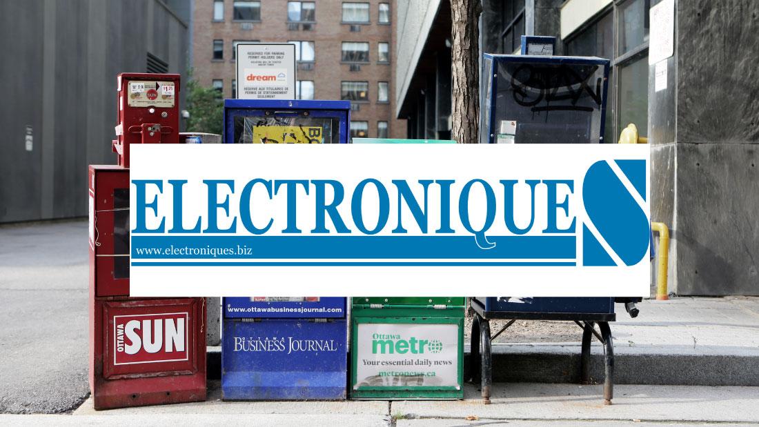 Logo Electroniques.biz