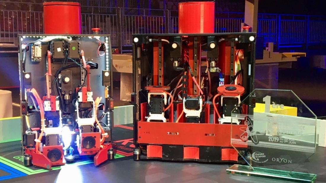 Sussus Invaders vainqueur de la Coupe de France de robotique