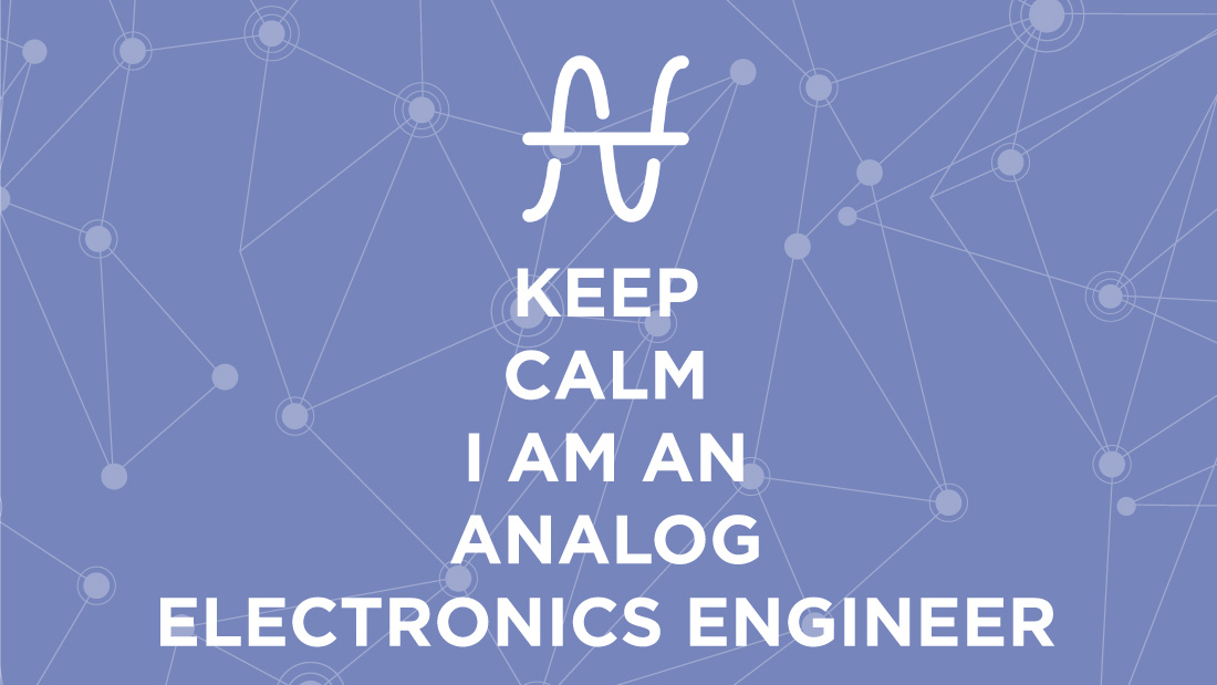 Analog electronic engineer job description