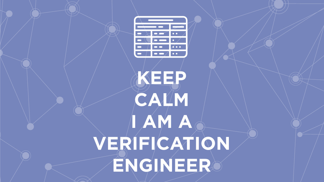 Verification engineer job description